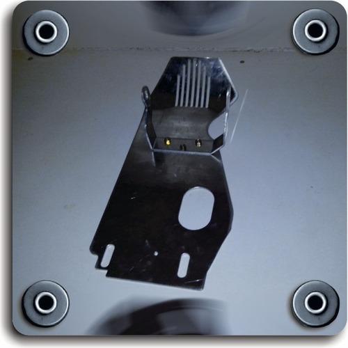 protector cubrecarter universal motos cub 110 cc