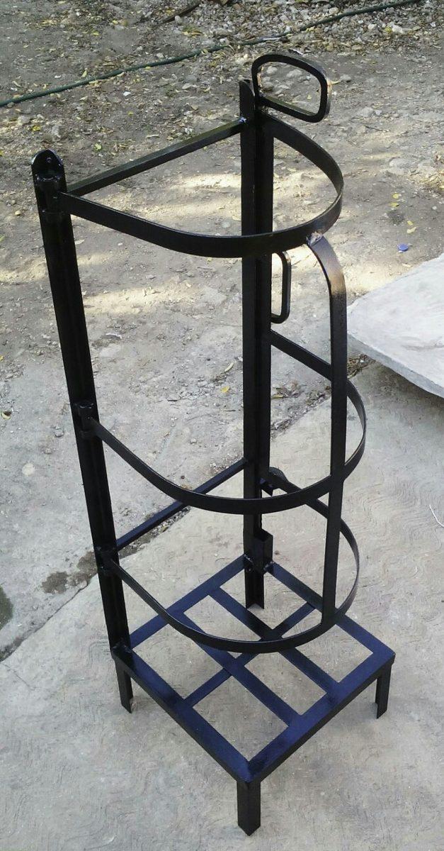 Protector de acero para tanque de gas butano de 20 litros for Tanque de gas butano