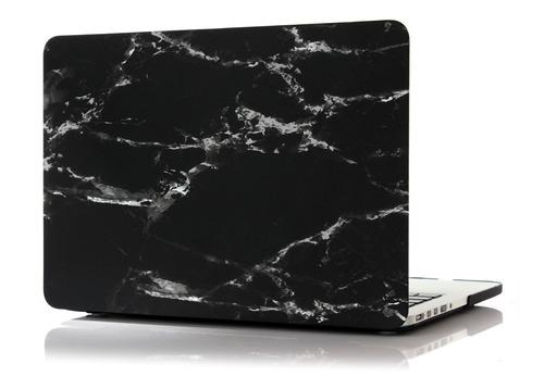 protector de acrilico diseño marmol - macbook 12