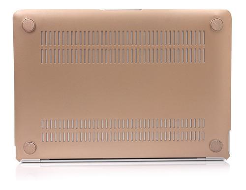 protector de acrilico estilo metalizado - macbook pro 13