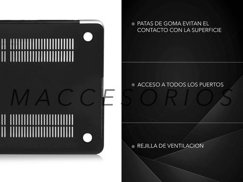 protector de acrilico matte frosted - macbook pro 13