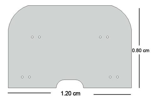 protector de acrilico para vehiculo