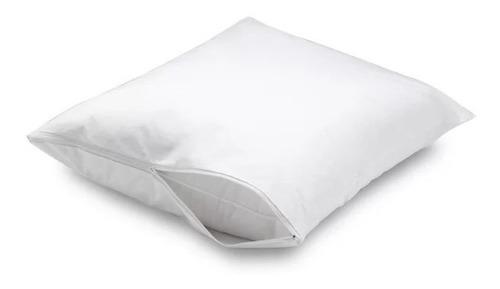 protector de almohada antifluido 50*70 blanco