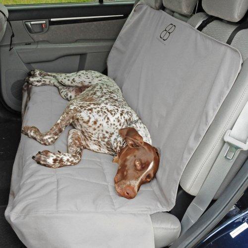 protector de asiento de coche petego dog, trasero, gris, su