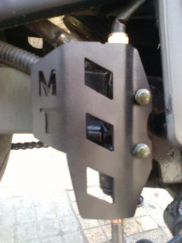 protector de bomba de freno trasero tx 200 mototech empire