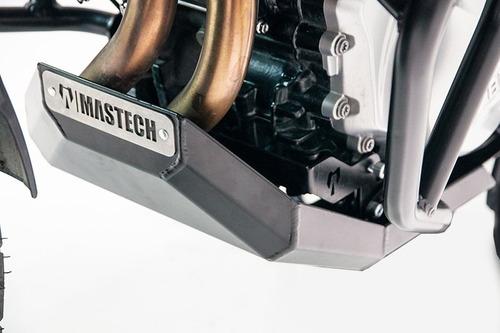 protector de carter motor bmw f750 - f850 gs negro mastech