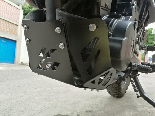 protector de cárter motor kawasaki klr 650 pechera