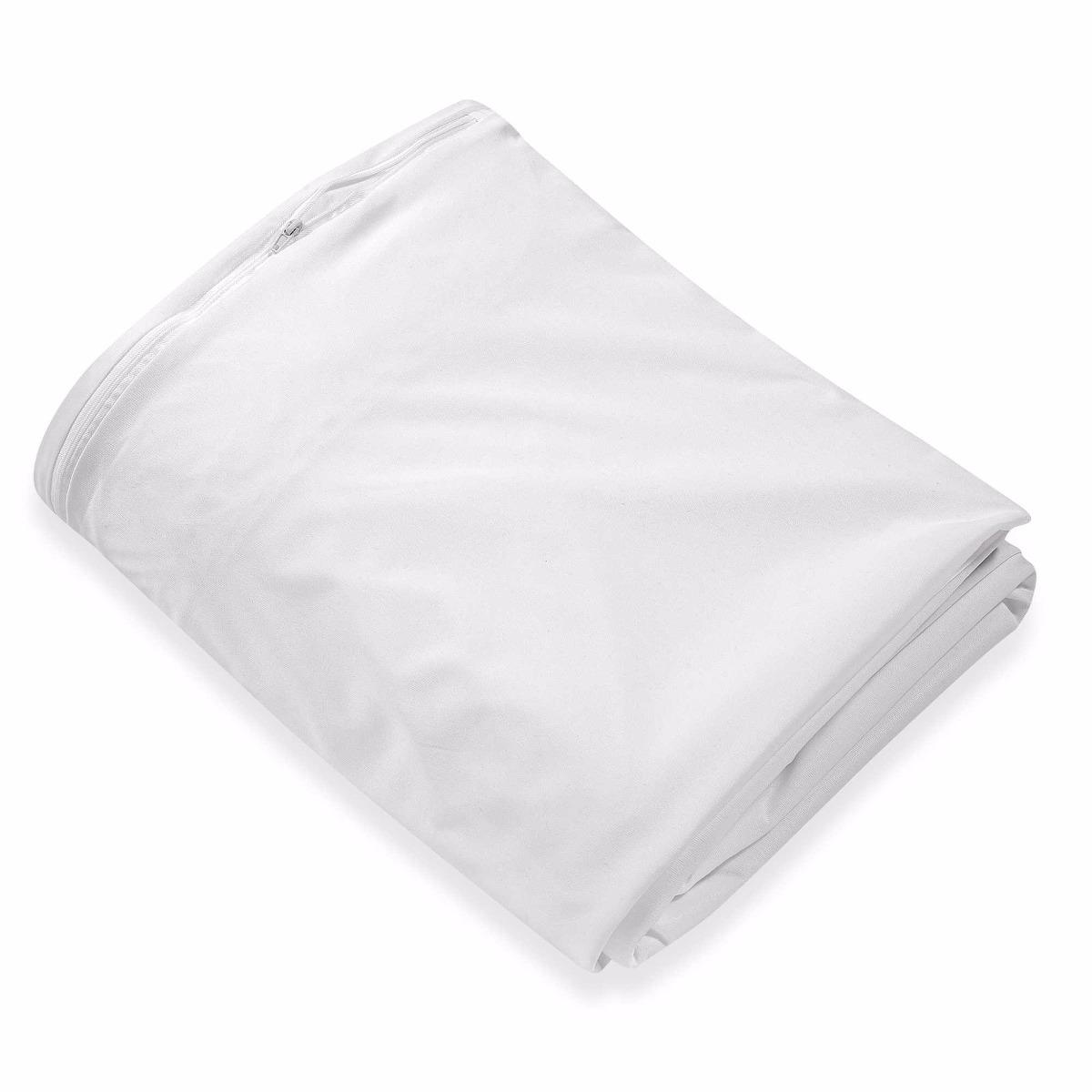 Protector de colch n arcansas impermeable cama doble - Protector de colchon impermeable ...