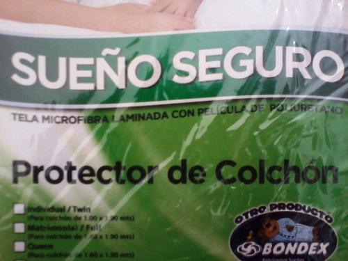protector de colchón - bondex antialergico antiacaros king s