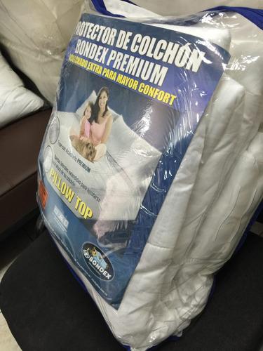protector de colchon bondex premium 1.40x1.90 matrimonial