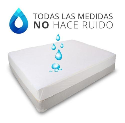 protector de colchón de cuna : felpa 100% impermeable
