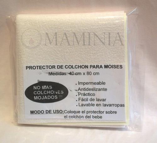 protector de colchón para moisés  impermeable toalla