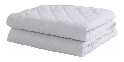 protector de colchón queen 1,60 matelasseado ajustable cubre