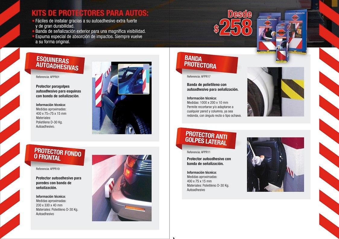 Protector de columnas para garajes y estacionamientos - Accesorios para garajes ...