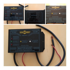 Protector De Corriente Integral Celistronic 110v 60amp