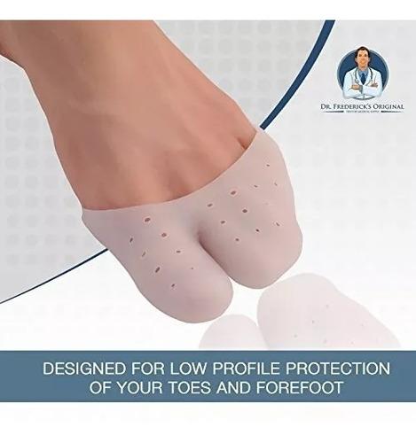 protector de dedos del pie cubre dedos soporte en silicona