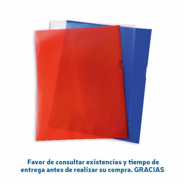 Protector De Documentos Tamaño Carta Color Rojo - $ 24.84 en Mercado ...