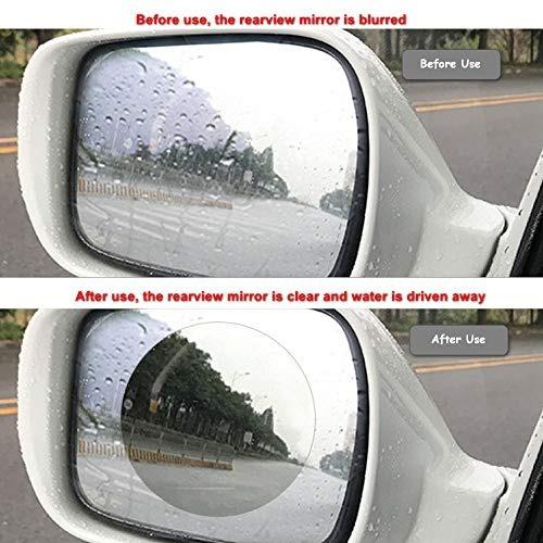 protector de espejo retrovisor anti empañamiento para coche