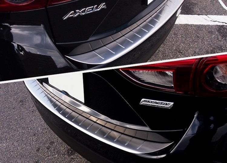 Mazda 3 Hatchback 2017 >> Protector De Facia Trasera Mazda 3 Hatchback 2014 2015 ...