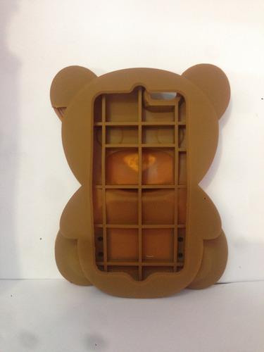 protector de goma oso iphone 6g