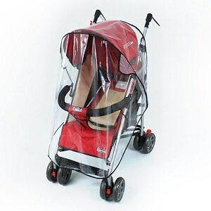 protector de lluvia plástico para coche de bebés