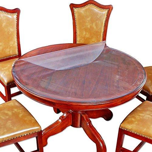 protector de mesa pequeño de comedor redondo