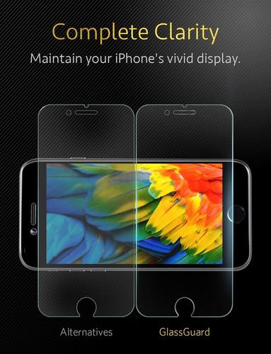 protector de pantalla anker - iphone 8/7 plus doubledefence