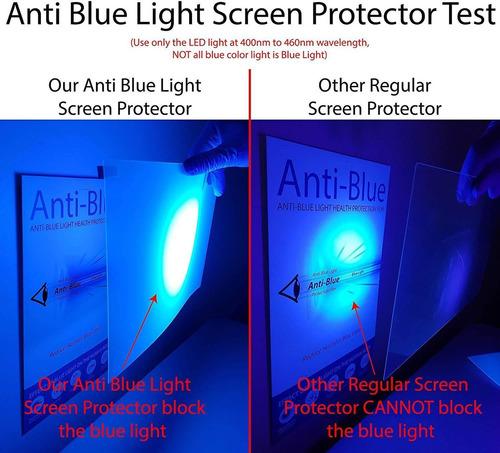 protector de pantalla anti luz azul para tv de 43 pulgadas.