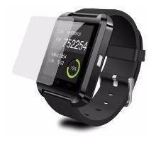 protector de pantalla anti rayones prot. uv smart watch u8