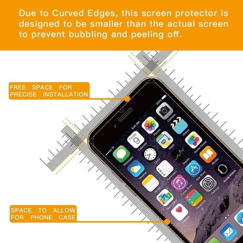 protector de pantalla de vidrio templado para + envio gratis