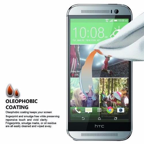 protector de pantalla htc one m8 tempered glass 2.5 espesor