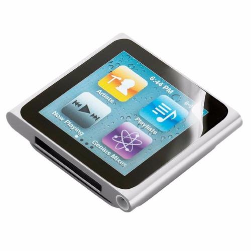 protector de pantalla ipod nano 6 adhesivo caja sellado