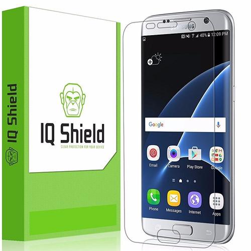 protector de pantalla iq shield  para samsung galaxy s7 edge