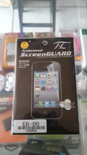 protector de pantalla nokia e6-00
