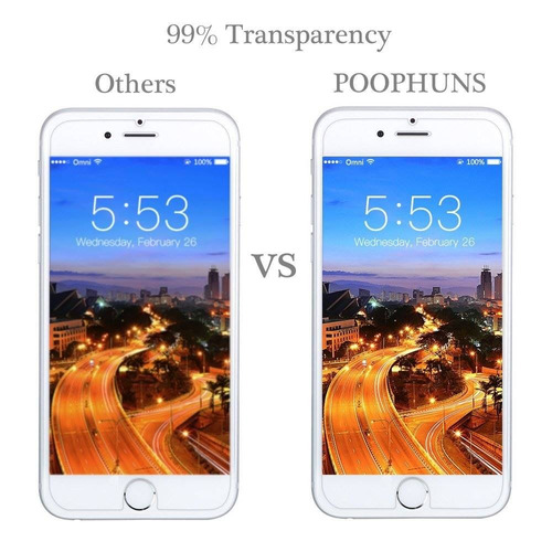 protector de pantalla para iphone 6 plus / 6s + envio gratis