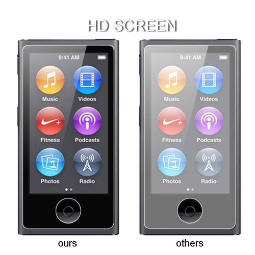 protector de pantalla para ipod nano 7, vifly + envio gratis