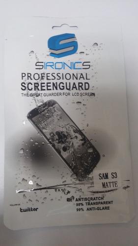 protector de pantalla para samsung s3, s4, s3 mini y s4 mini