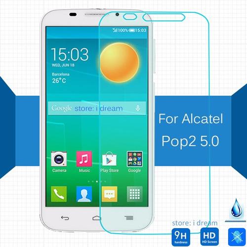 protector de pantalla vidrio templado alcatel pop 2 (5 pul)