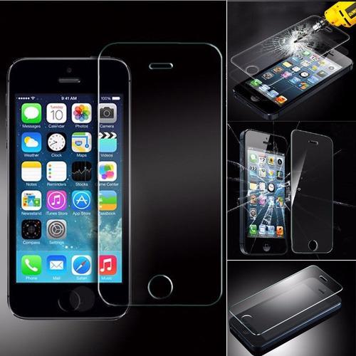 protector de pantalla vidrio templado apple iphone 5 5c 5s