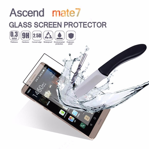 protector de pantalla vidrio templado huawei mate 7