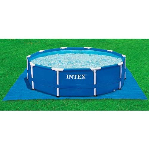 protector de piso para piscinas 472cm intex 28048