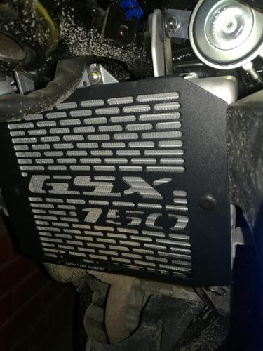 protector de radiador suzuki gsx-sr 150 negro en oferta