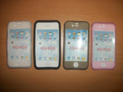 protector de silicon iphone 4s envio gratis!!!