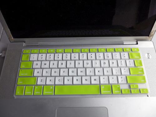 protector de silicona para todos los teclados mac book pro