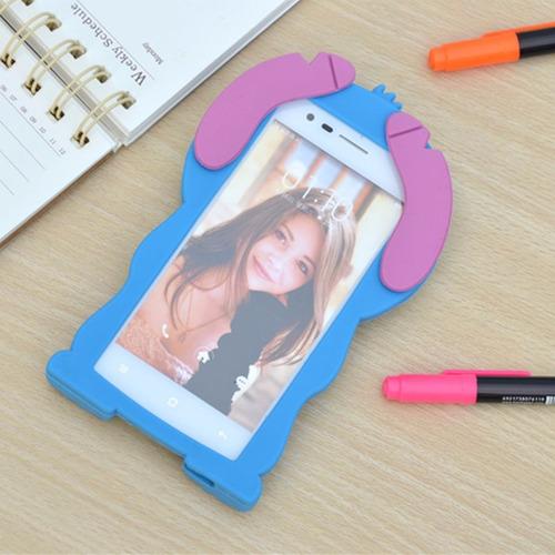 protector de silicona stitch para iphone 7