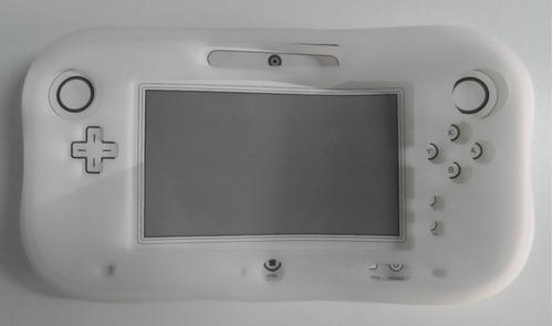 protector de silicona suave, color blanco, para wii u