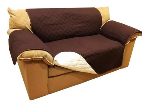 protector de sofá 3 puestos mascotas doble faz envío gratis