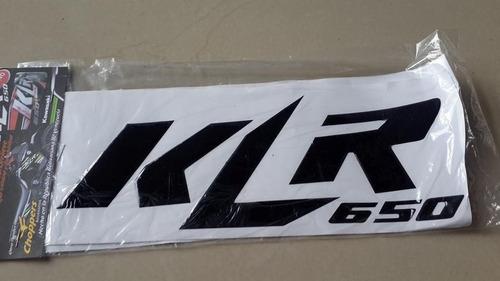 protector de tanque kit klr 650 kawazaki moto