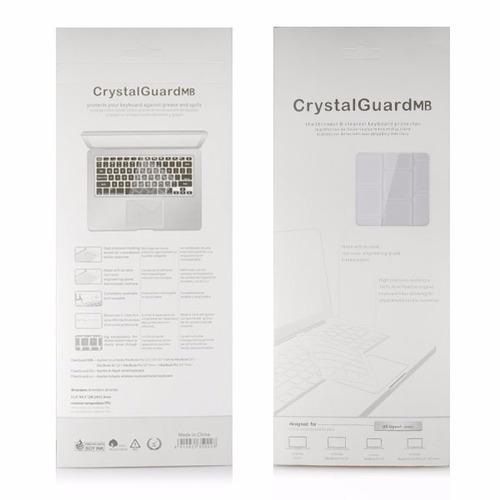 protector de teclado en español macbook 12 pulgadas tranpare