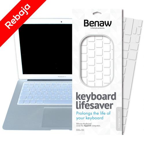 protector de teclado ingléskeyboardlifesaver transparente11¨